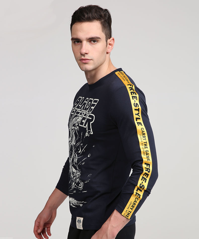 Quality LOL Kayn T shirt League of Legends Long Sleeve Black T-shirts