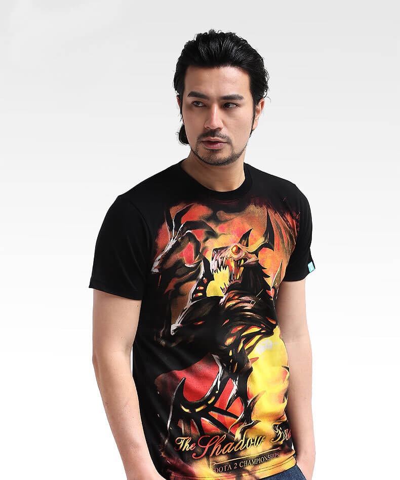 3D Designed DOTA 2 Shadow Fiend T-shirts Mens Collector's Edition Tees