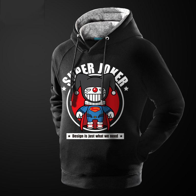 Black superman hoodie