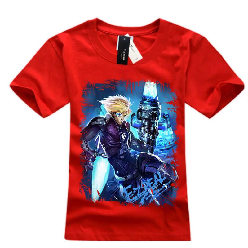 Cool lol game Ezreal EZ TShirts For Men