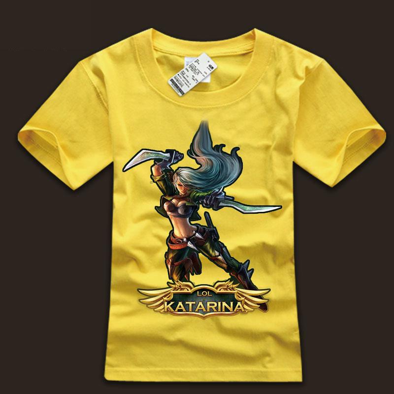 LOL The Sinister Blade Katarina Tshirts For Boys