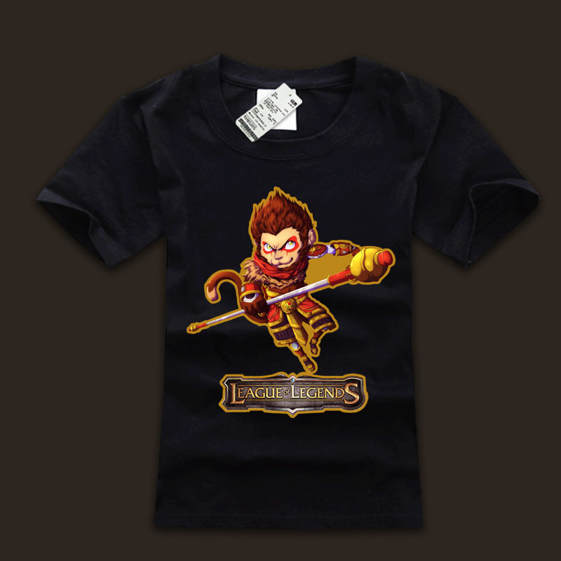 league of leagends Wukong T Shirts For Men