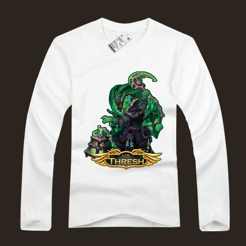 League Of Leagends LOL Thresh T-Shirts For Youth