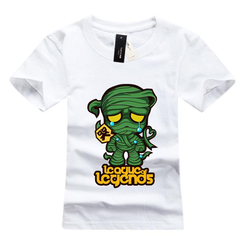 LOL Amumu T-Shirts For Boys