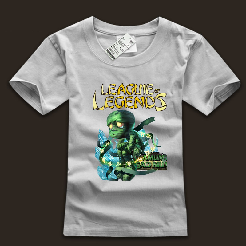 League Of Leagends LOL Amumu T-Shirts