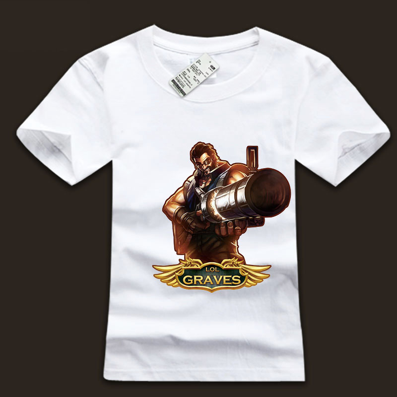 Men's LOL The Outlaw Graves  Tee Shirts