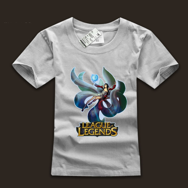 League Of Leagends Nine Tails Fox Ahri T Shirts
