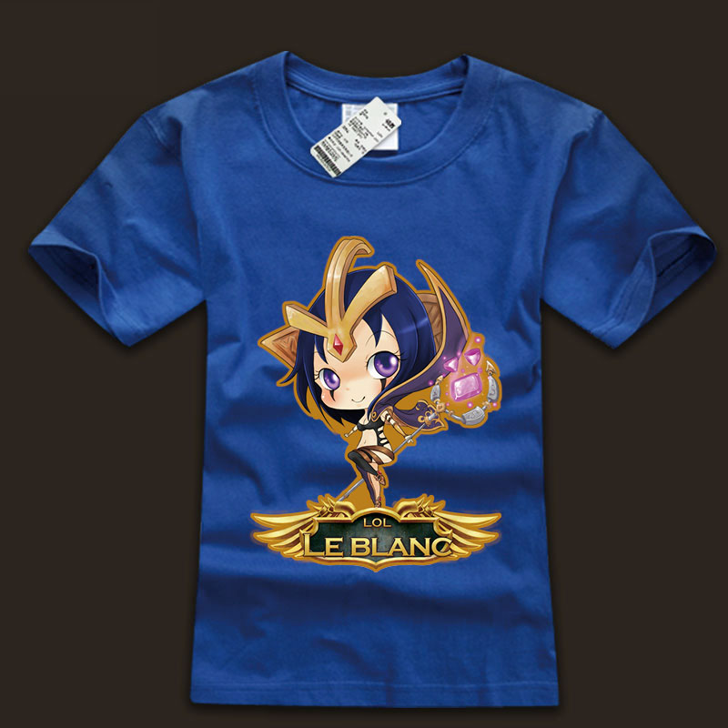 league of leagends Deceiver Leblanc T Shirts For Youth