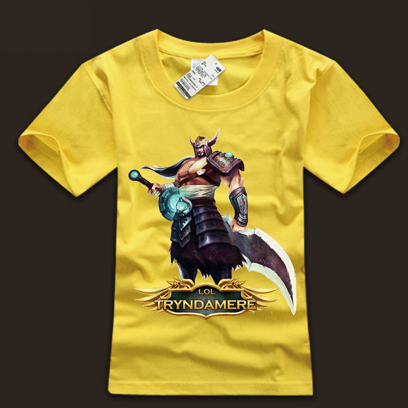 Men's LOL The Barbarian King Tryndamere T Shirts