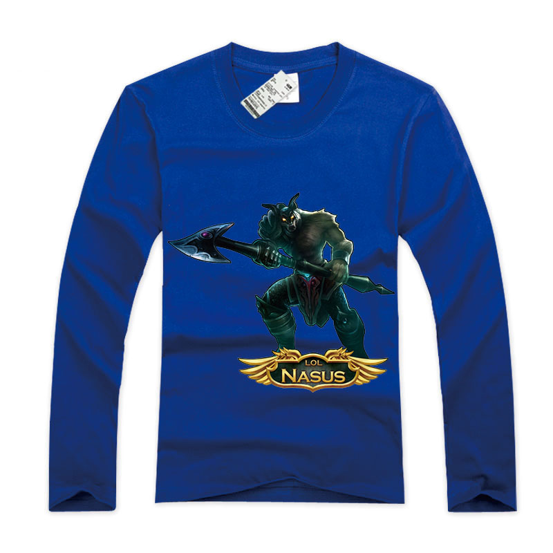 LOL Nasus Long Sleevee T Shirts For Youth