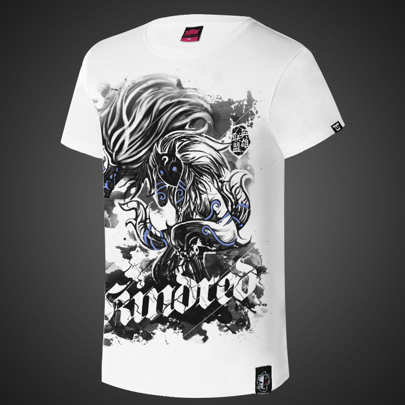 LOL Kindred Eternal Hunters Ink Print Shirts
