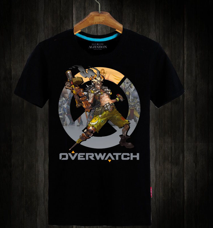 Overwatch Junkrat Hero Tshirts For Mens