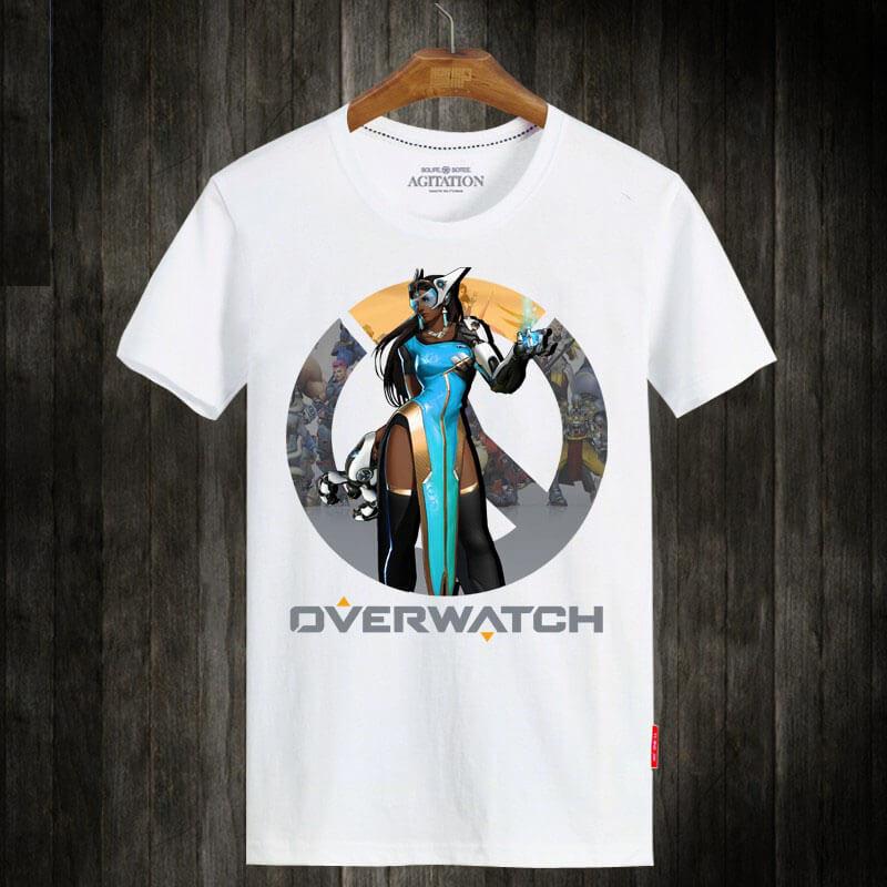 Over Watch Symmetra Short Sleeve T-Shirts
