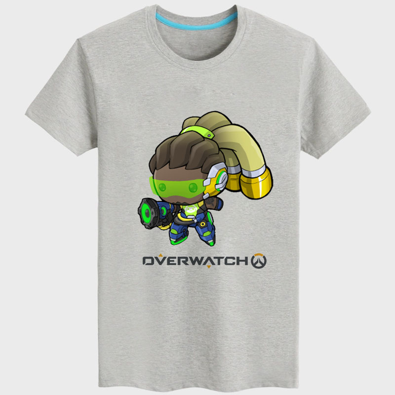 Cool Design Overwatch lucio T-shirt For Couple