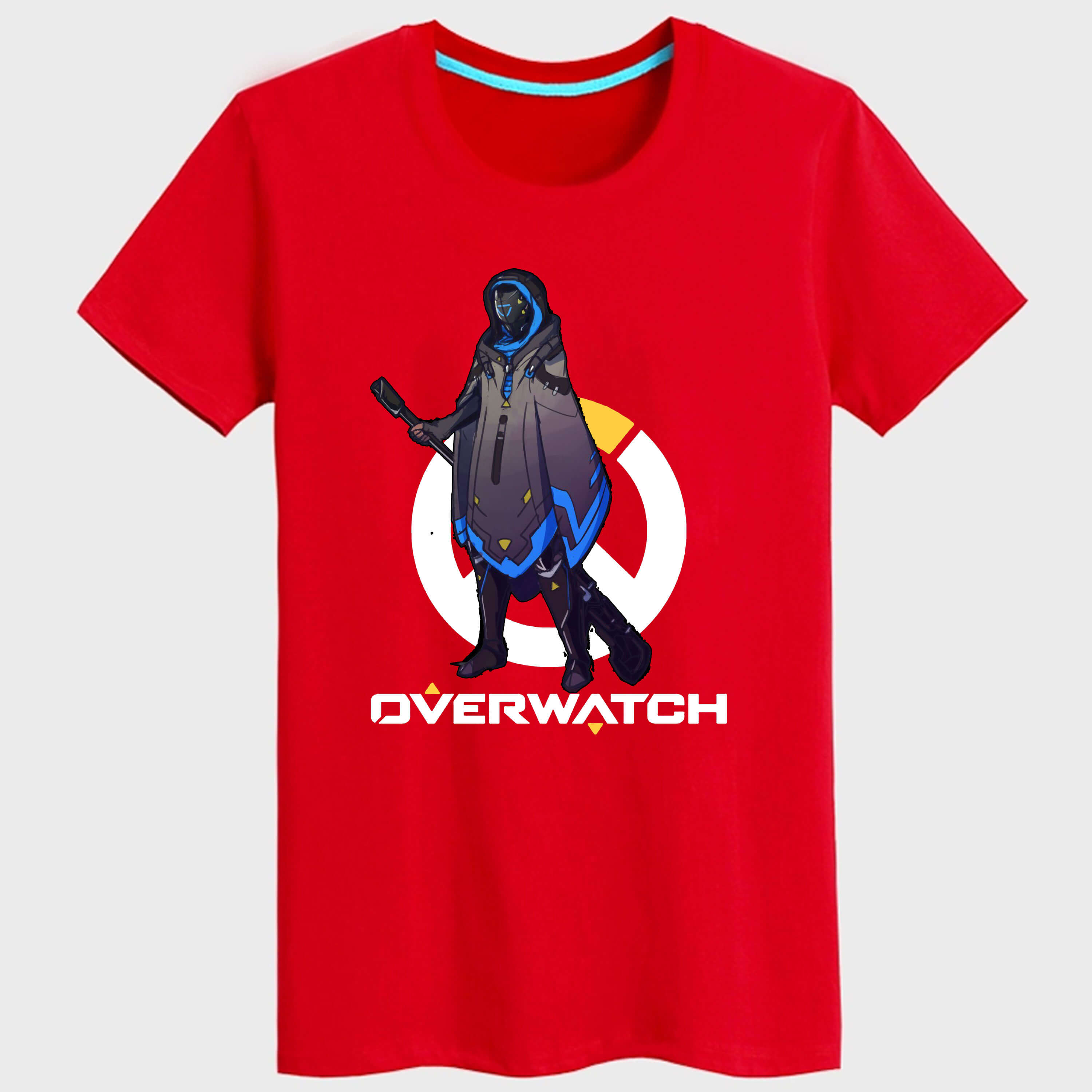 Cool Blizzard Over Watch Pharah T shirt For Youngs