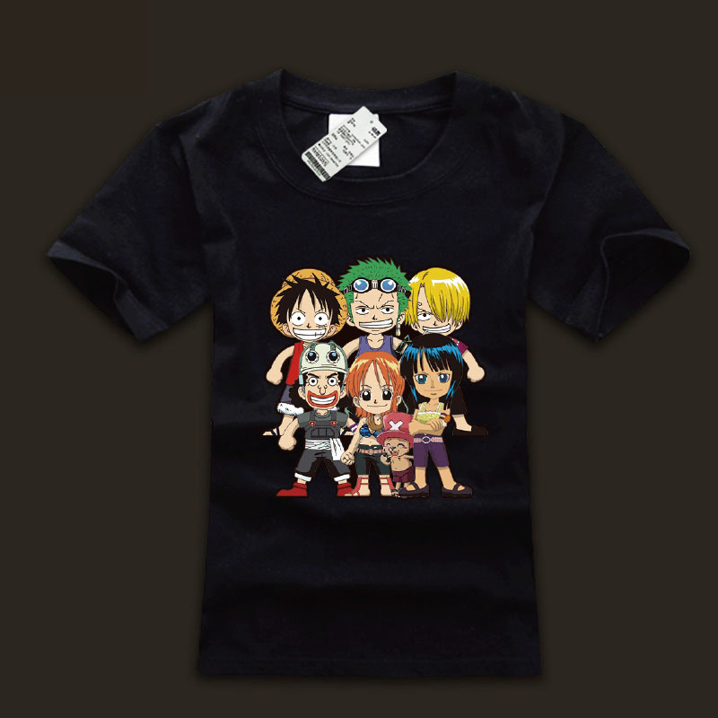 88326fbb0d Drzý jeden kus Luffy rodinné Unisex trička