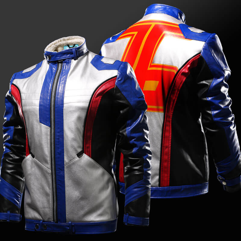 limited edition overwatch soldier 76 cosplay pu leather jackets