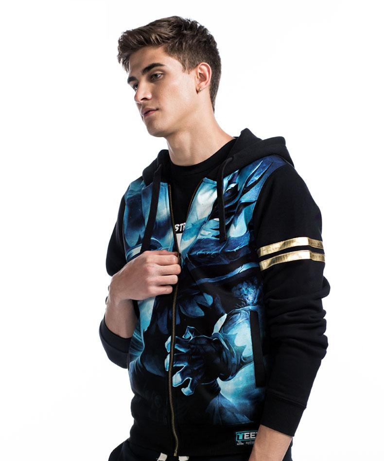 LOL Draven Sweatshirt Mens Black 3D Hoodie