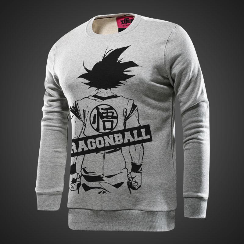 c093519624 Dragon Ball Wukong Hoodies, a fiúk szürke pulóver | Wishining