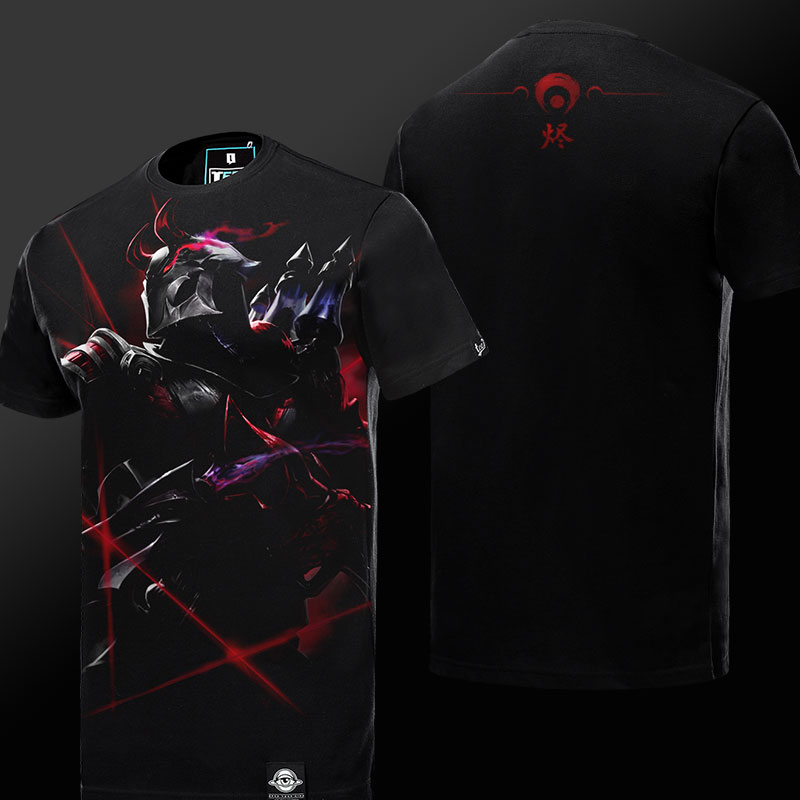 LOL Khada Jhin Tshirt League of Legends Virtuoso Hero Tee Shirt