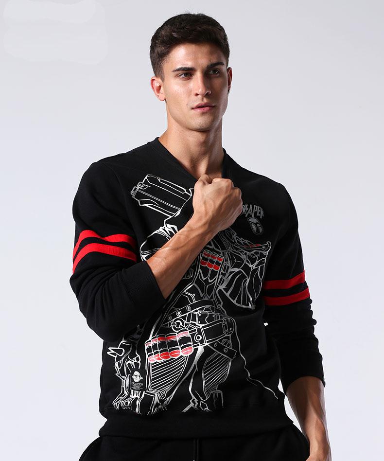 Overwatch Reaper Hoodie Mens Black Sweatshirts