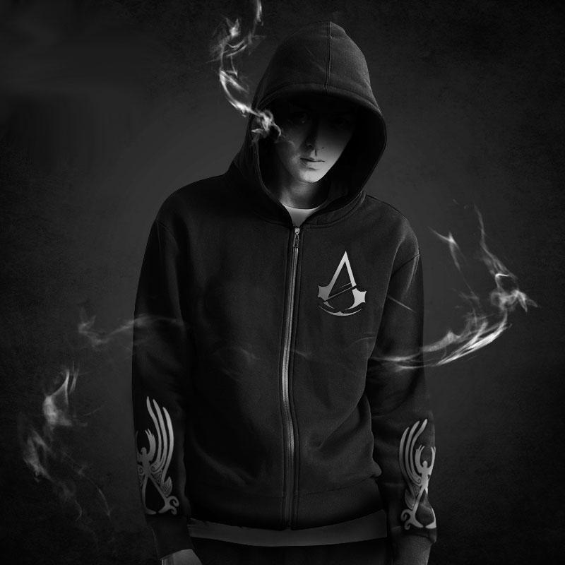 Assassin hoodie black