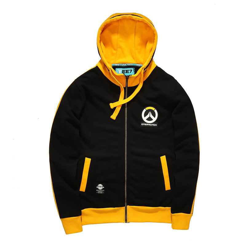 2913e72eb726f 2016 New Design Overwatch Logo Hoodies Mens Boys Blizzard OW Games Zip Up  Sweatshirts ...
