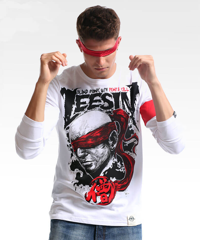 Cool Design LOL Lee Sin Long Sleeve Tshirts