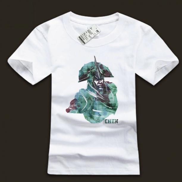 DOTA 2 Chen Hero Tee Ink White Shirt For Mens