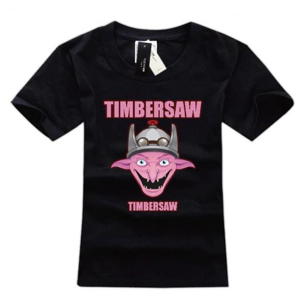 DOTA 2 Timbersaw Computer Game tee shirt