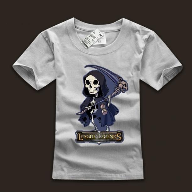 100% Cotton LOL The Deathsinger Karthus T Shirts