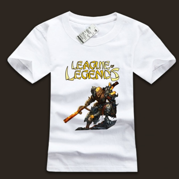 league of leagends LOL Wukong T-Shirts For Men