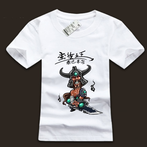 Cool LOL Tryndamere Tees For Men