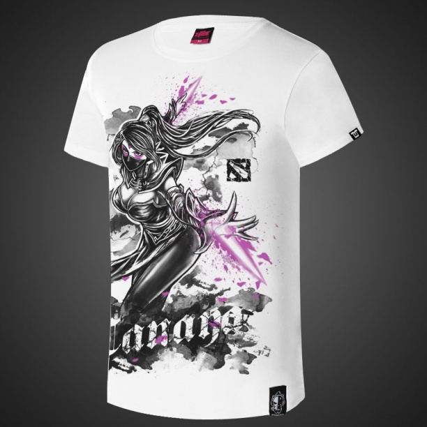 DOTA 2 Ink Printed Templar Assassin Tee Shirts