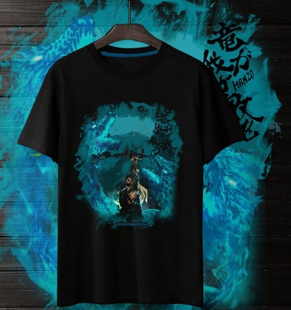 Overwatch Csgo Tees Cool Hanzo Hero Shirts For Mens and Womens