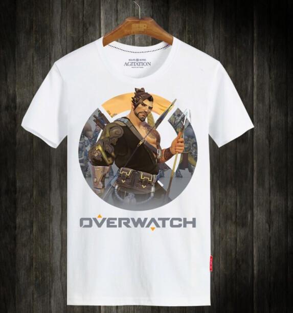 Overwatch OW Hanzo Hero Cotton Tees