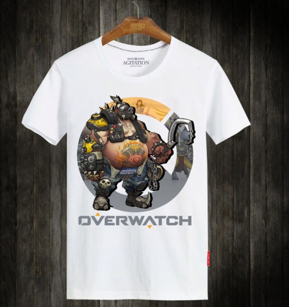 Overwatch Gaming OW Roadhog Tee Shirts