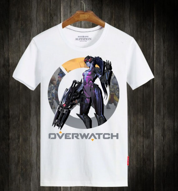 Blizzard OW Widowmaker Hero Tshirts