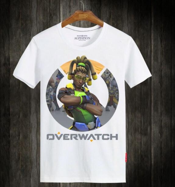 OW lucio Hero Unisex White Tshirt