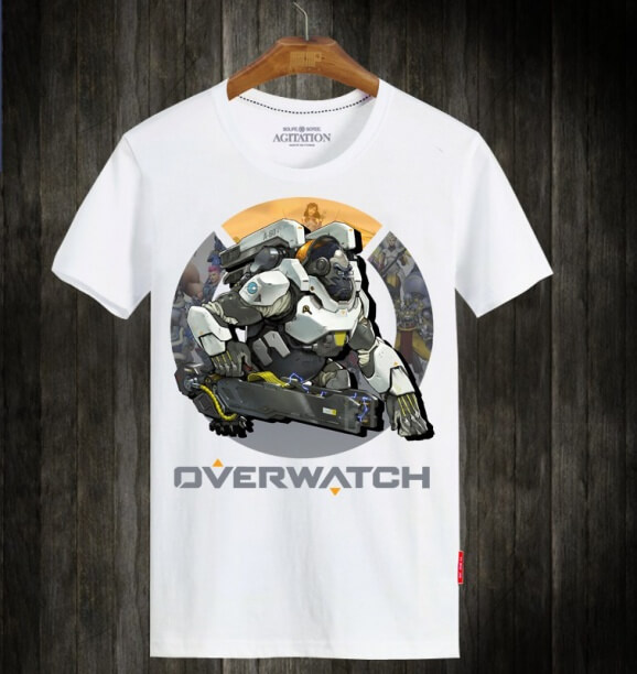 Overwatch OW Winston T-shirt For Mens and Womens