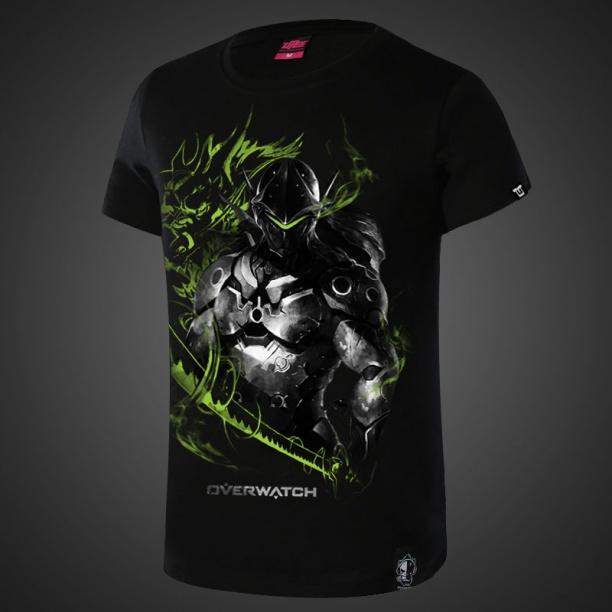Over Watch Genji Hero Tshirts For Boys