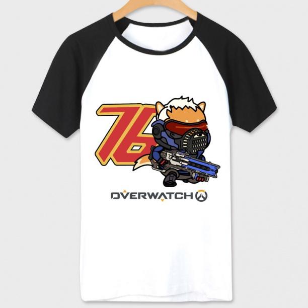 Overwatch Soldier 76 Tshirts White Unisex White Tees
