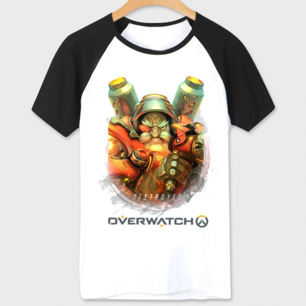 Blizzard Overwatch Torbjorn T-Shirt For Boys