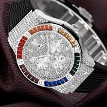 High Quality Rubber Strap Watch Men Quartz Watch Man Stainless Steel Watch For Men