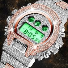 Digital G Style Shock Chronograph Date Wrist Watch LED Electronic Golden Clock