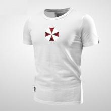Resident Evil Umbrella Logo Shirts Men Black T shirt