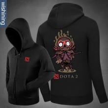 DOTA 2 Shadow Demon Hoodie Black Zip Up Sweatshirt For Him