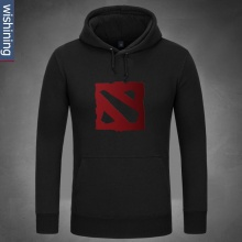 Cool Dota 2 Logo Design Hoodie Black Hooded Clothing For Dota2 Fans