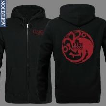 Game Of Thrones Targaryen Hoodie Zip Up Sweatshirt Game Of Thrones Gifts