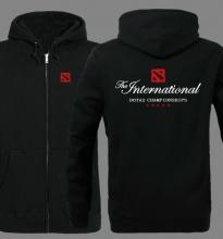 The international Dota 2 championship Zip Up Hoodie for Men